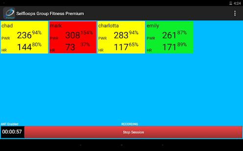 Group Fitness Premium - náhled
