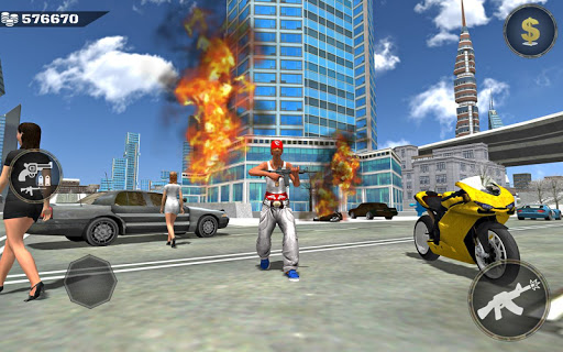 Real Gangster Simulator Grand City apkpoly screenshots 10