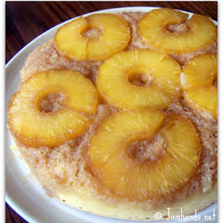 Upside Down Pineapple Pound Cake.
