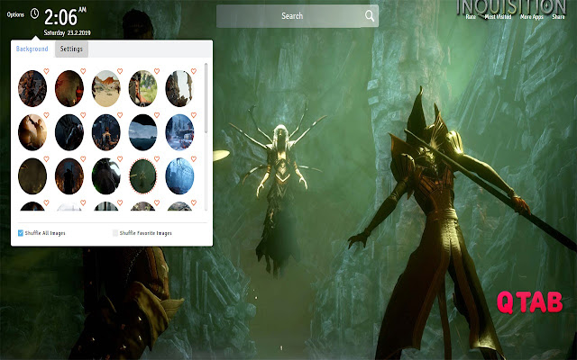 Dragon Age Inquisition Wallpapers New Tab
