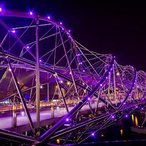 Helix Bridge Super structures by Lye Danny - Buildings & Architecture Bridges & Suspended Structures ( pwcbridges )