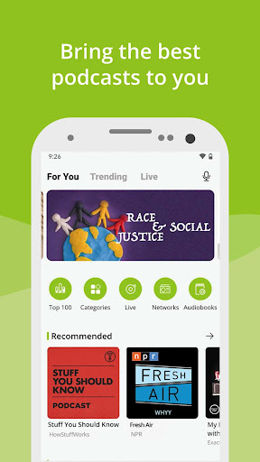 Podcast App & Podcast Player - Podbean 8.1.2 screenshots 1