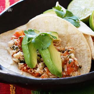Cilantro Lime Tilapia Tacos.