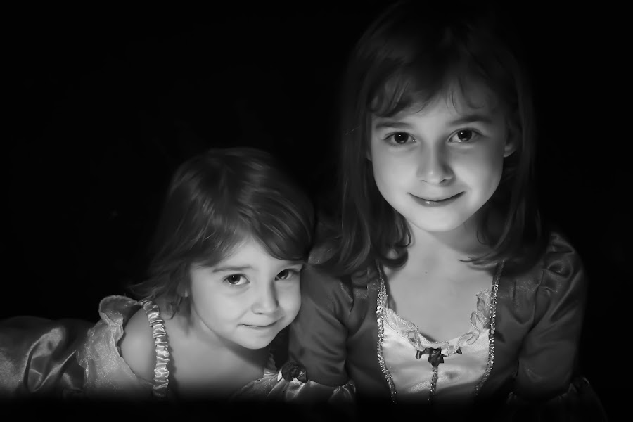 The girls by Steve Trigger - Babies & Children Child Portraits