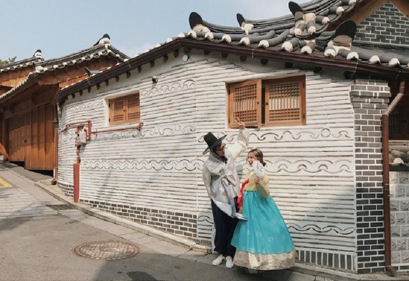 """Chuyện """"tình... cảm"""" ở Seoul."""
