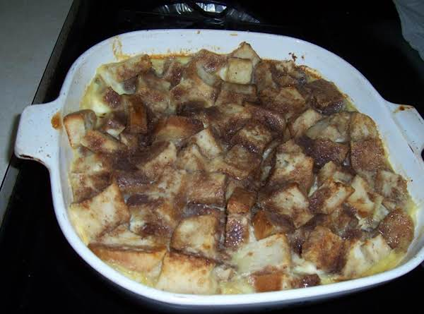 Old-time Spiced Bread Pudding