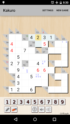 Kakuro Cross Sums screenshot 9