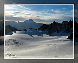 Photo: Plateau du Trient, sur fond de de Grand Paradis