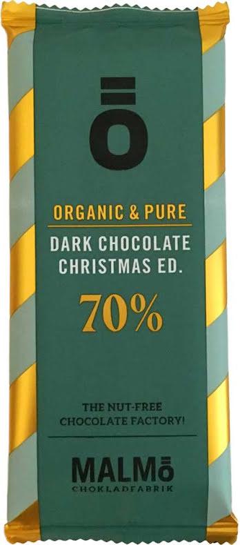 Mörk choklad & glögg 70 % - Malmö Chokladfabrik
