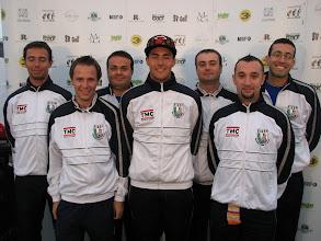 Photo: Italy. Paolo Porta, Boris Arzuffi, Stefano Piccini, Lorenzo Ciampi, Roberto Garbui, Andrea Origgi and Christian Pinton. (Photo: Bengt Svensson)