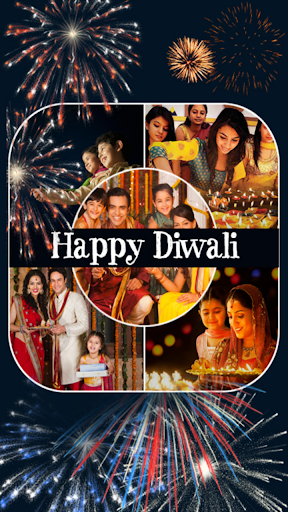 Diwali Family Photo Collage