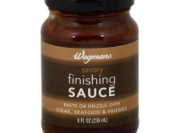 """If you don't have """"Savory Finishing Sauce"""" (Wegman's sells it), this is what's in..."""