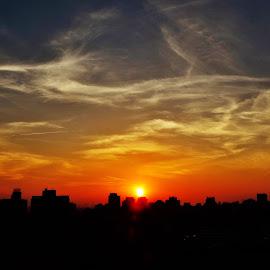 São Paulo SP Brazil  by Marcello Toldi - Landscapes Sunsets & Sunrises