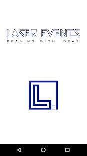 Laser Events - Employee Management - náhled