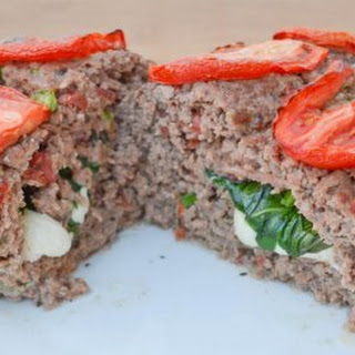 Italian Mozzarella-Stuffed Meatloaf.