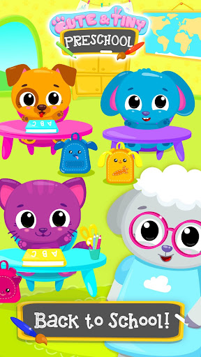 cute & tiny preschool - learning with baby pets screenshot 1