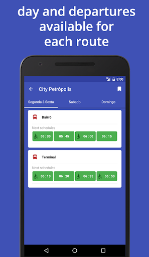Bus Brazil: Bus, schedules...  screenshots 3