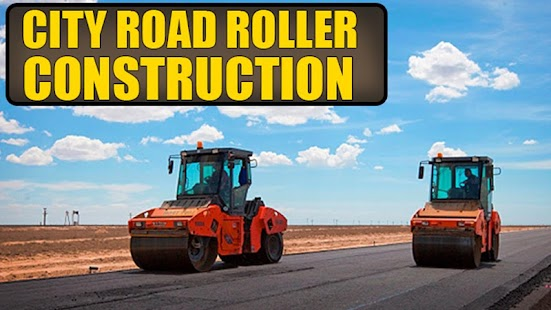 City Road Roller Construction - náhled