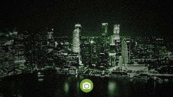 Screenshot of Night Vision Camera Simulation