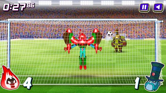 Alien Transform penalty power football game 2