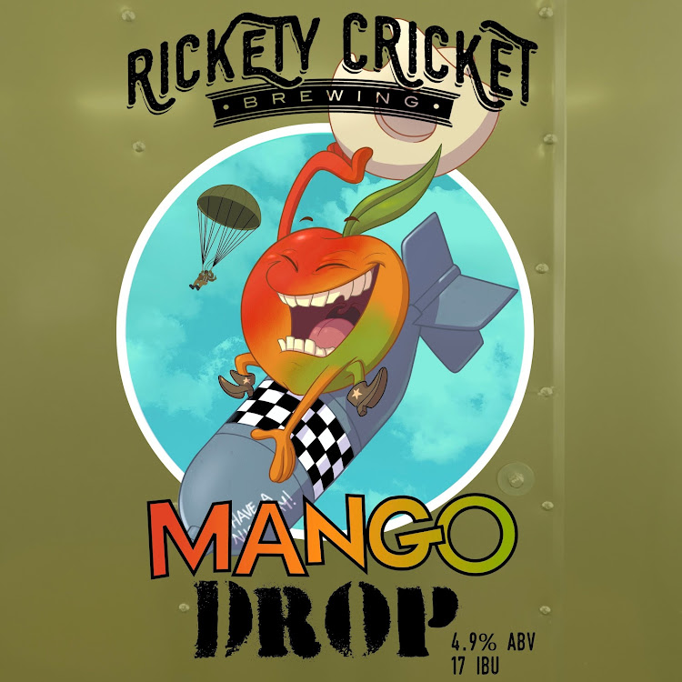 Logo of Rickety Cricket Brewing Mango Drop