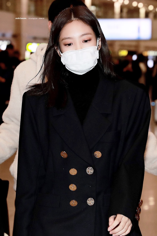 blackpink jennie airport fashion 2019 7