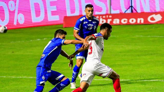CSA e Bahia se enfrentaram pela 5ª rodada da Copa do Nordeste