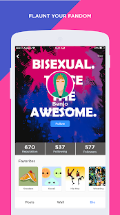 Bisexual Amino - náhled