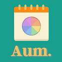 Aum self care, home cleaning, personal development icon