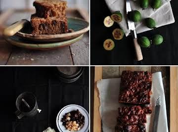 Feijoa, Date & Ginger Loaf