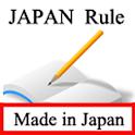 Règles Japon icon