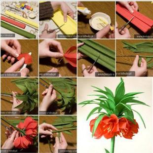 DIY PAPPER FLOWERS - náhled
