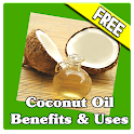 Coconut Oil Benefit Uses icon