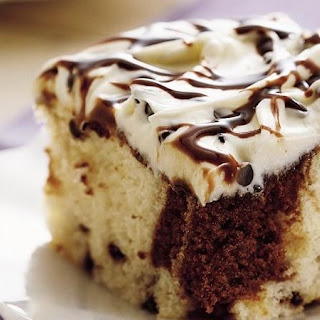 Chocolate Chip Marble Cake