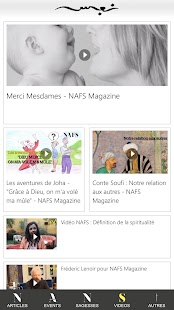 NAFS MAGAZINE- screenshot thumbnail