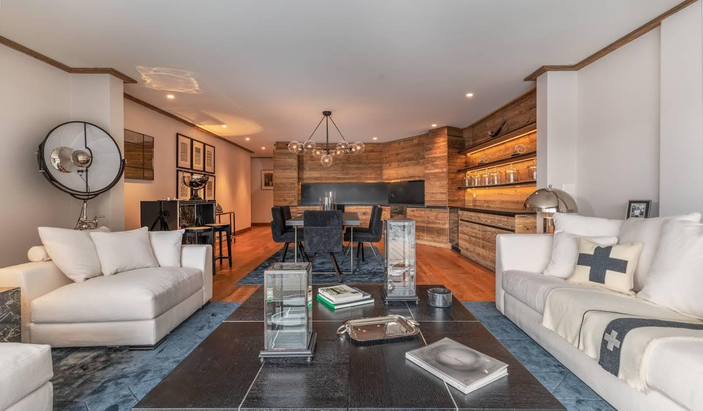Appartement contemporain avec piscine Crans-Montana