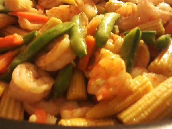 Shrimpy Vegetable Stirred Up