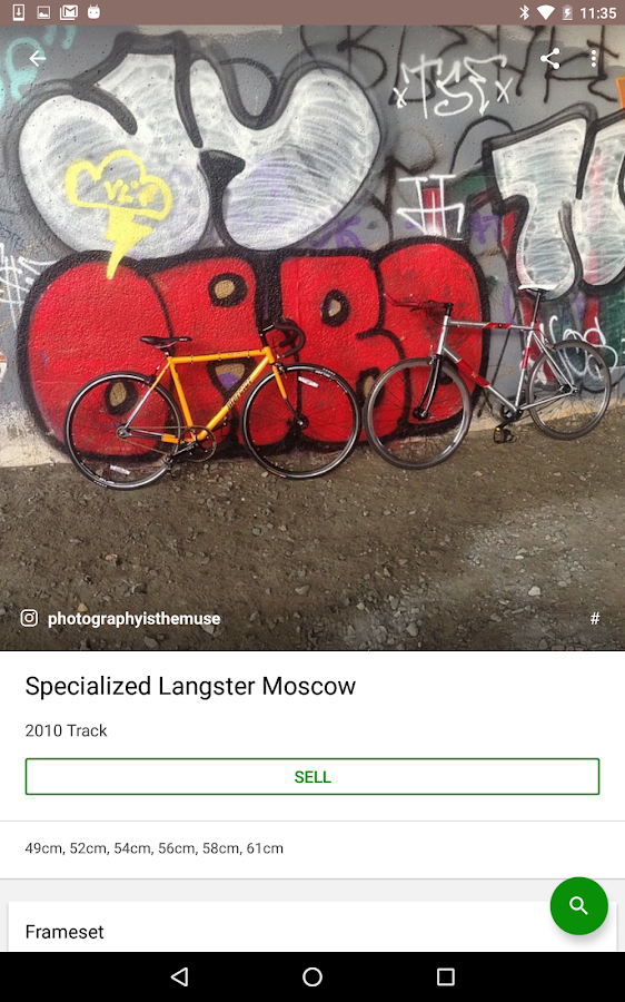 Sprocket - Find your Bicycle- screenshot