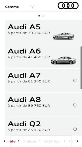 Audi Configurateur screenshot 2