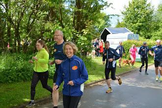 Photo: Løbere fra BMI motion løber ud på den første tur i skoven