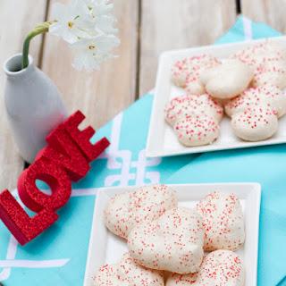Valentine's Meringue Cookies