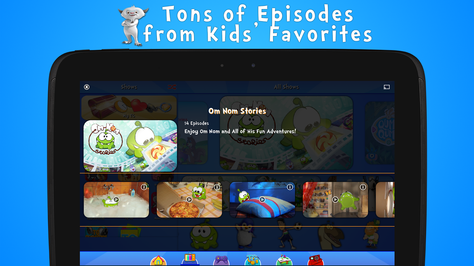 Toon Goggles Cartoons for Kids- screenshot