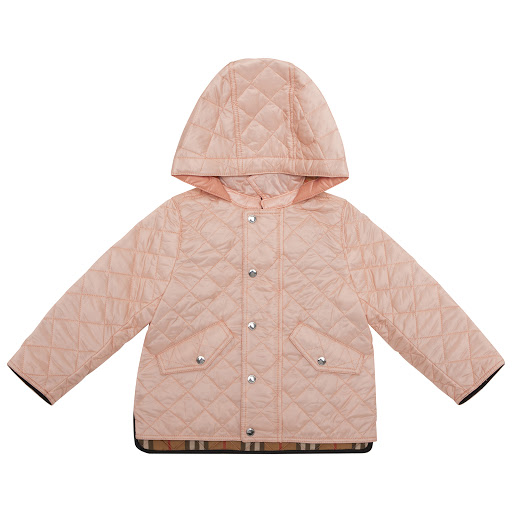 Primary image of Burberry Pink Quilted Jacket