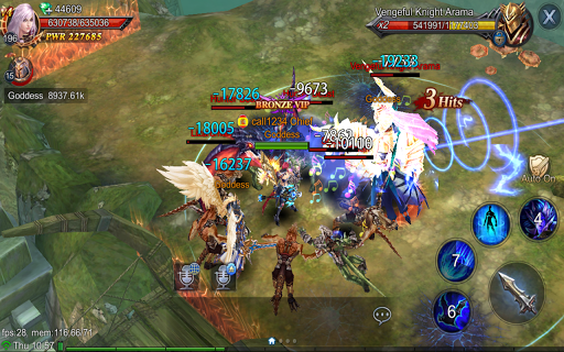 Goddess: Primal Chaos - en Free 3D Action MMORPG apkmr screenshots 8