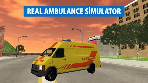 Télécharger Gratuit Ambulance Simulator Game Extreme APK MOD (Astuce) screenshots 1
