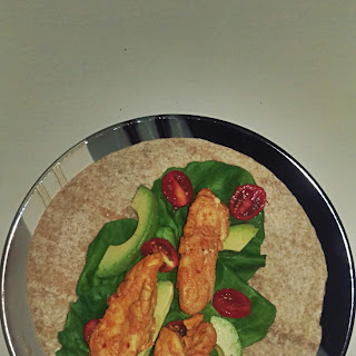 Spicy Lemon Chicken Wraps