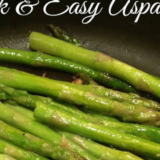 Quick and Easy Asparagus.