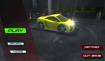 Screenshot of Midnight Driver: Car Racing