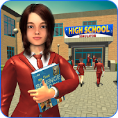 High School Girl Simulator: Virtual Life Game 3D
