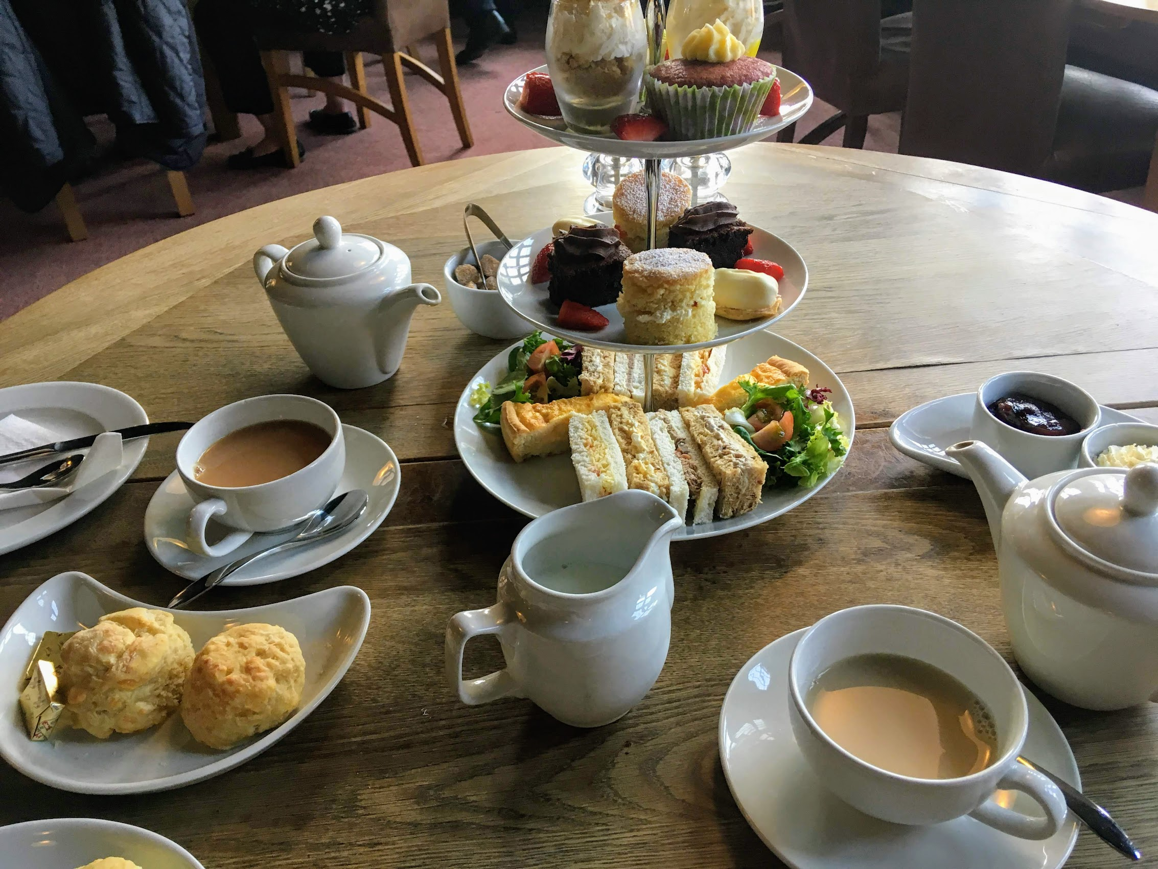 Afternoon Tea at Gladstone Library